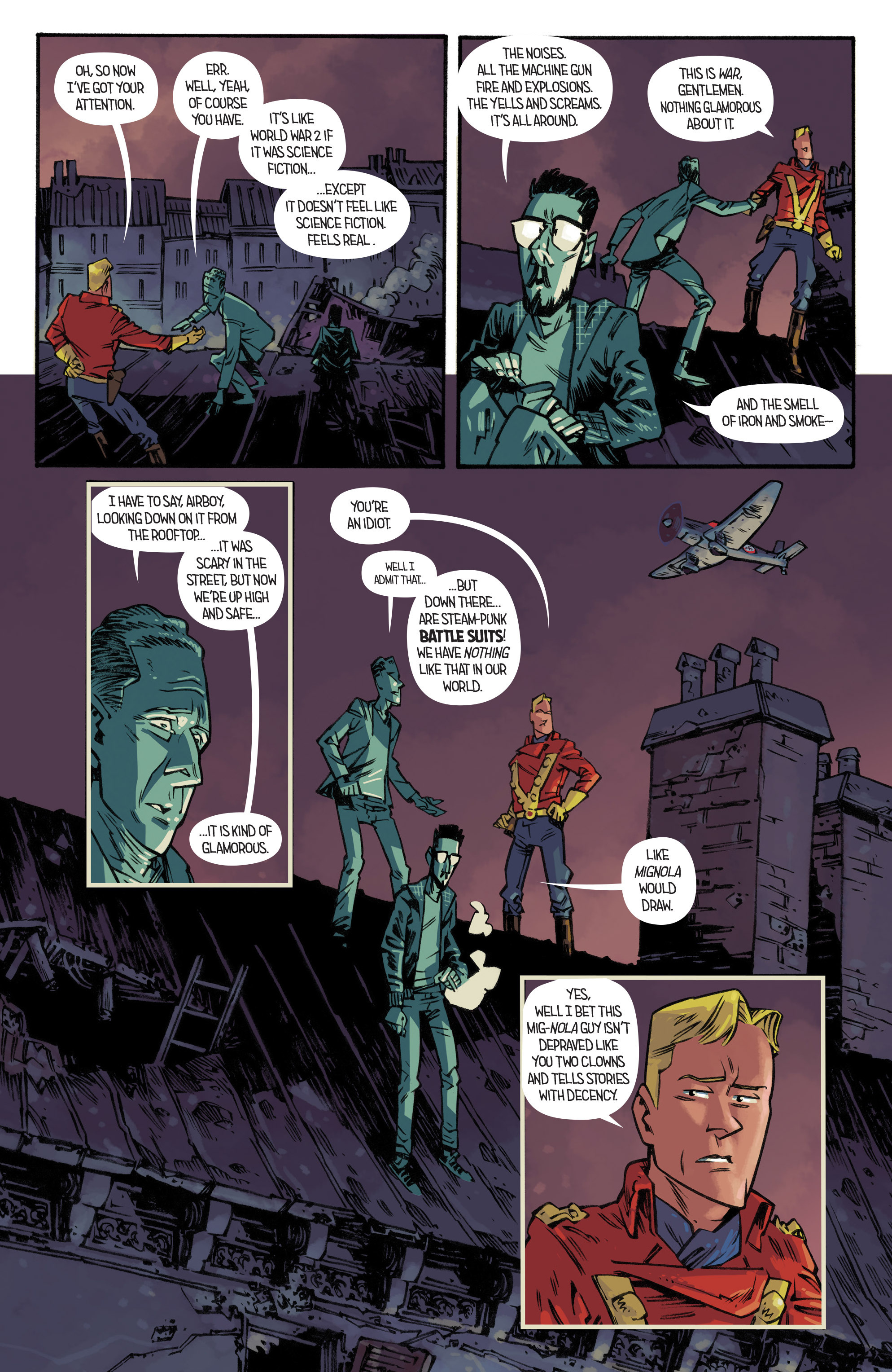 Read online Airboy comic -  Issue #3 - 5