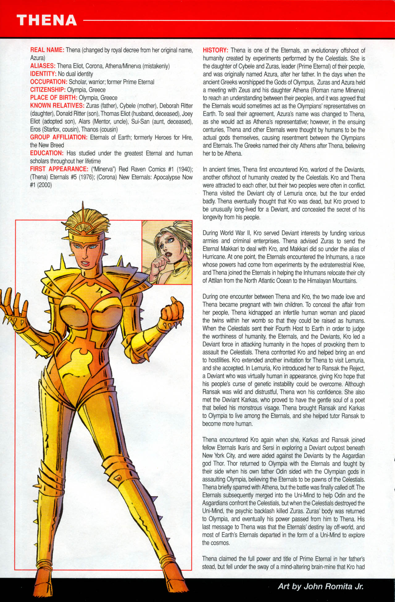 Read online All-New Official Handbook of the Marvel Universe A to Z: Update comic -  Issue #2 - 56