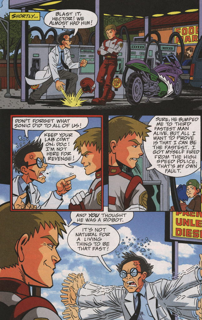 Read online Sonic X comic -  Issue #38 - 20