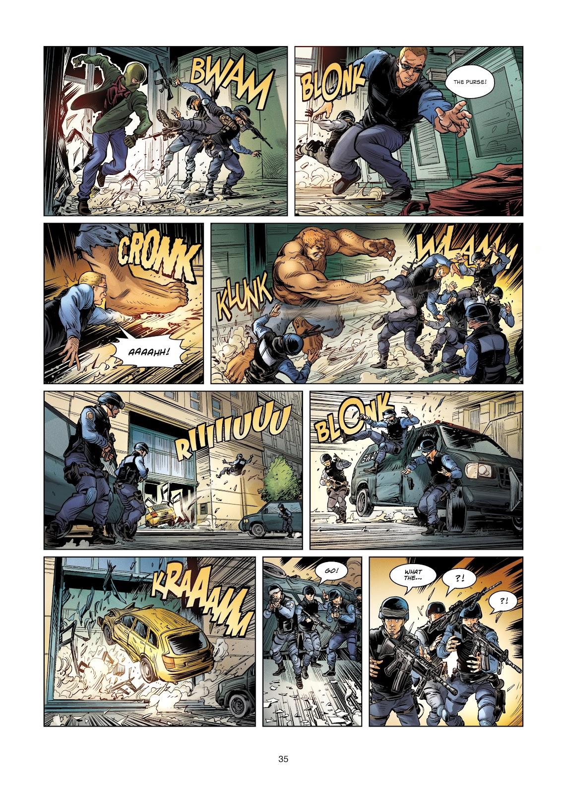 Read online Vigilantes comic -  Issue #4 - 35