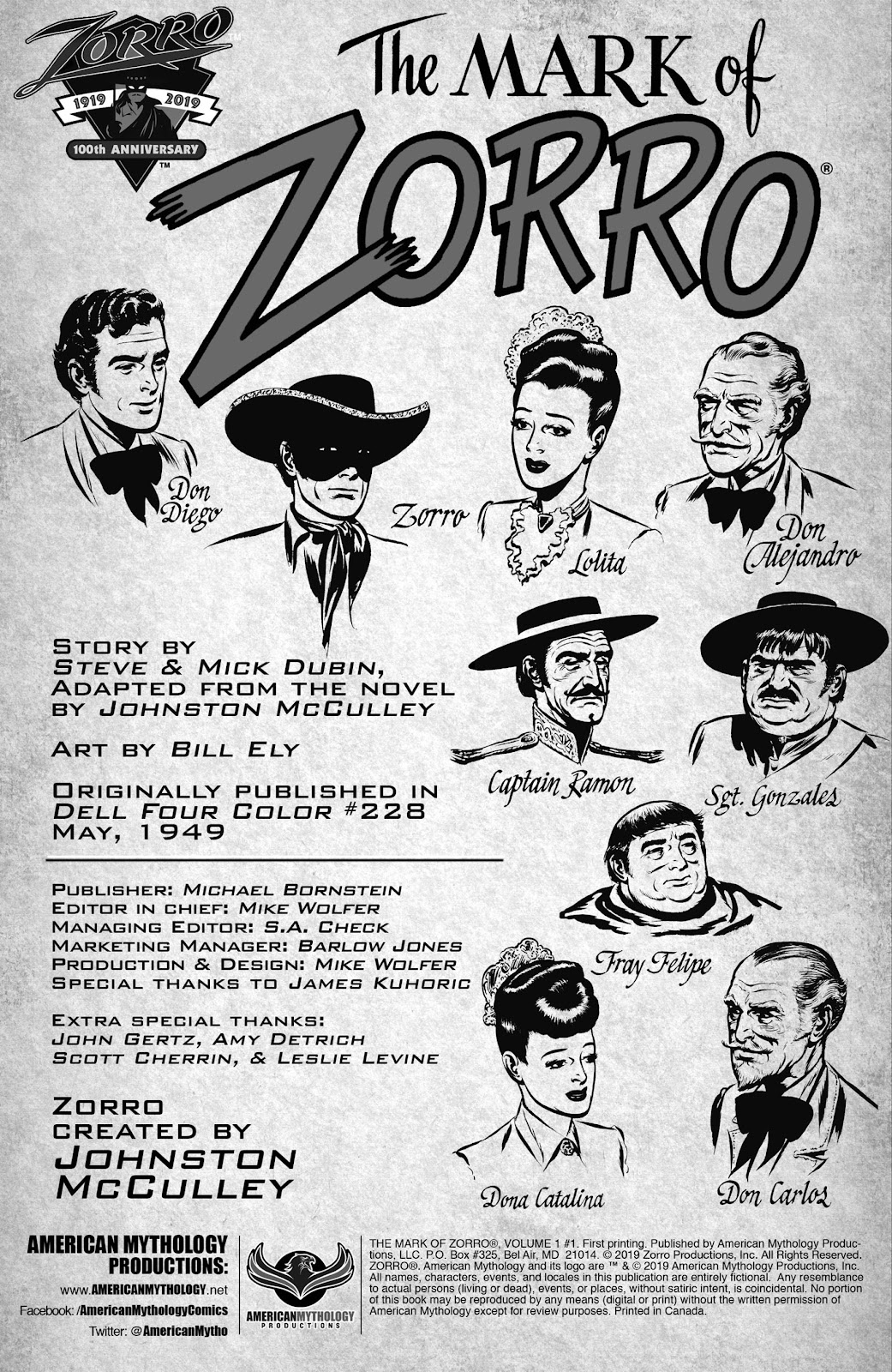Read online AM Archives: The Mark of Zorro #1 1949 Dell Edition comic -  Issue #1 1949 Dell Edition Full - 2