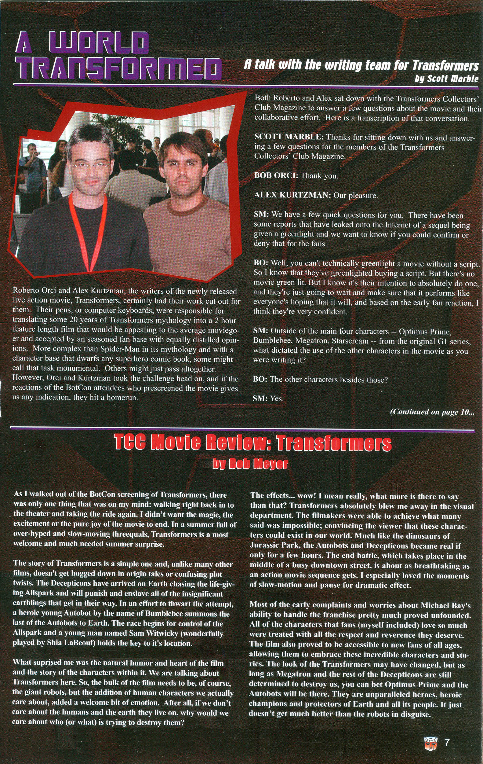 Read online Transformers: Collectors' Club comic -  Issue #16 - 7