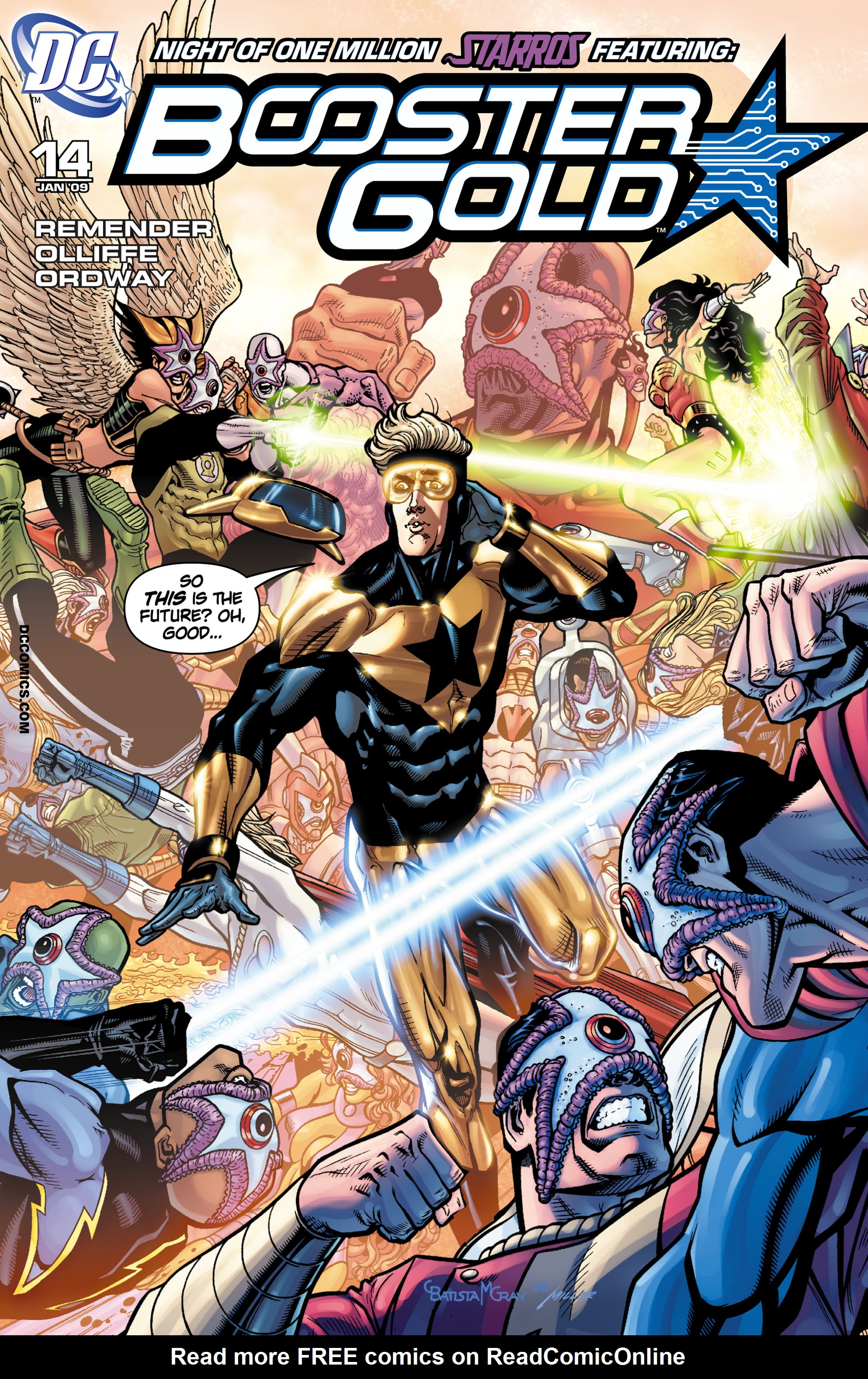Booster Gold 2007 Issue 14