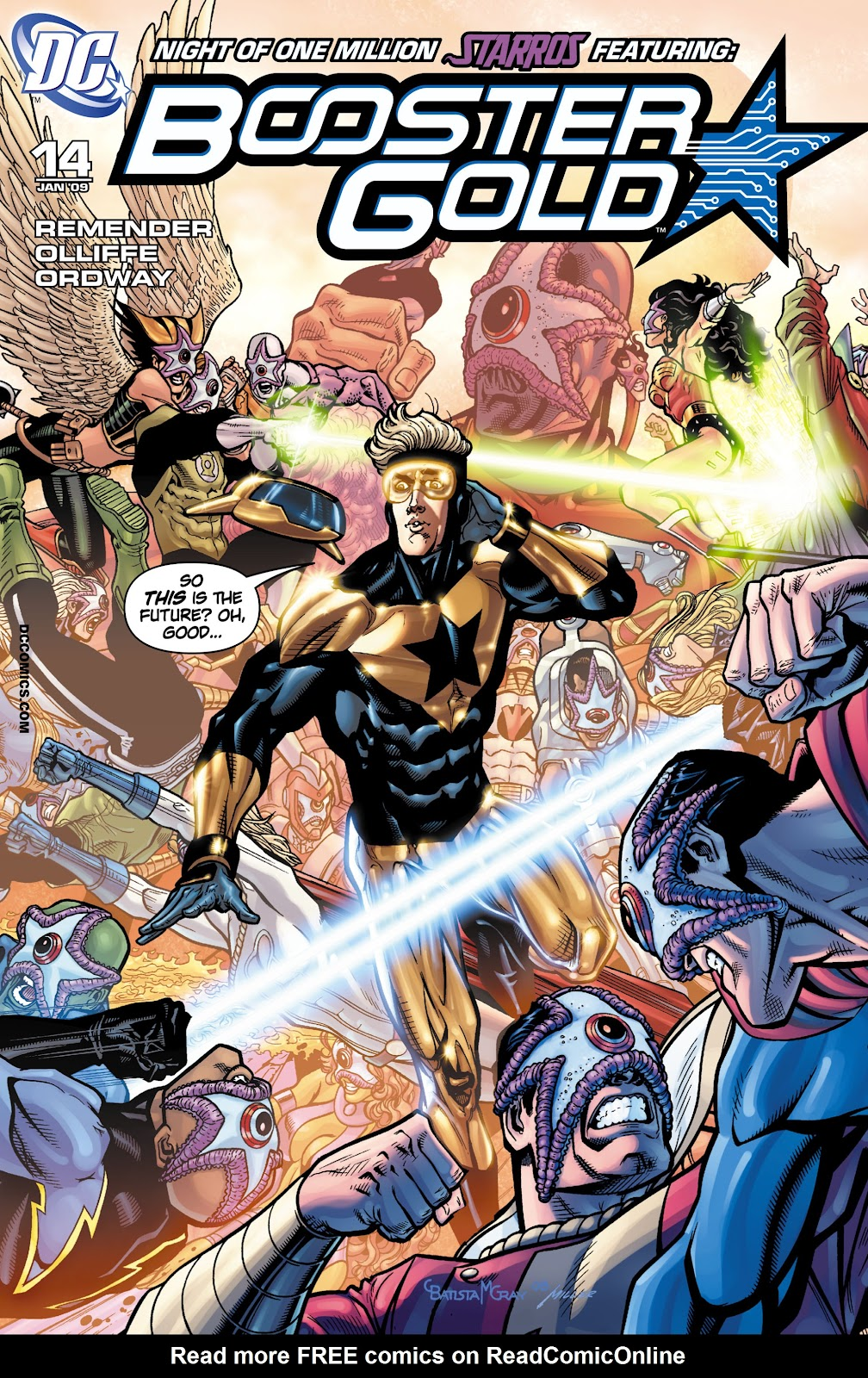 Booster Gold (2007) issue 14 - Page 1