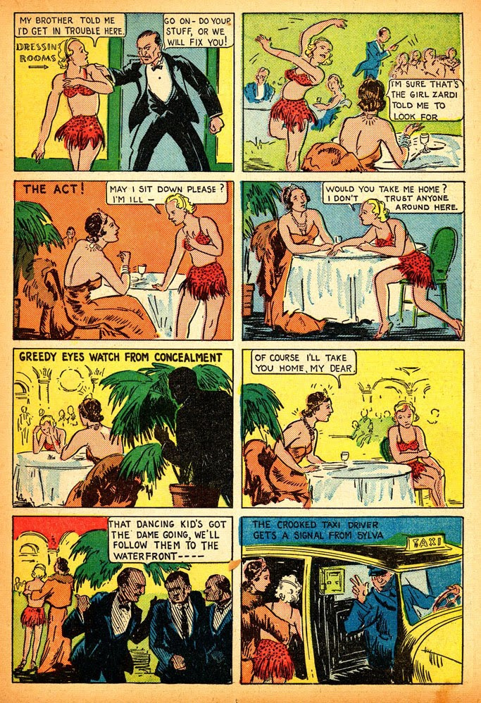 Read online Amazing Man Comics comic -  Issue #12 - 29