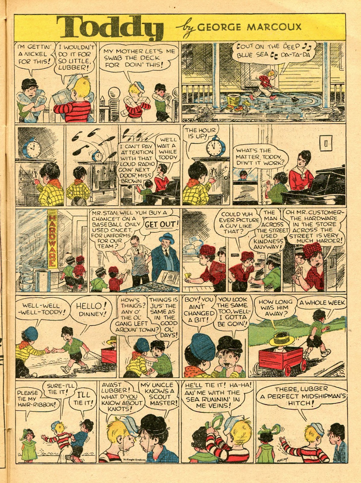 Read online Famous Funnies comic -  Issue #33 - 59