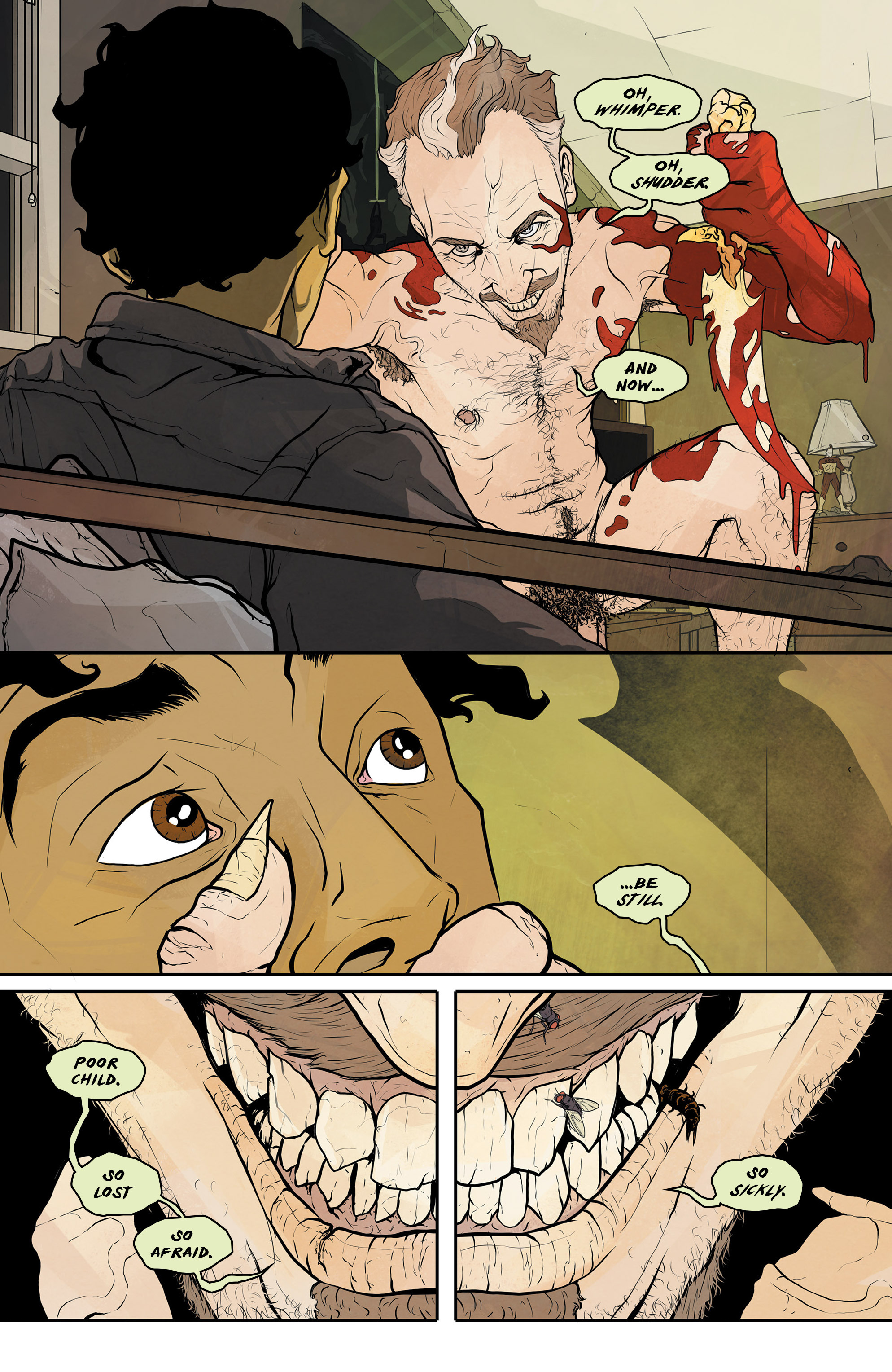 Read online Regression comic -  Issue #1 - 21