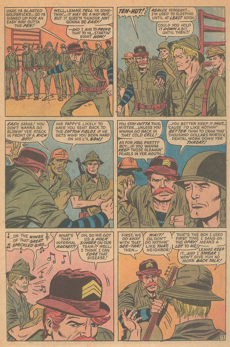 Read online Sgt. Fury comic -  Issue #98 - 19