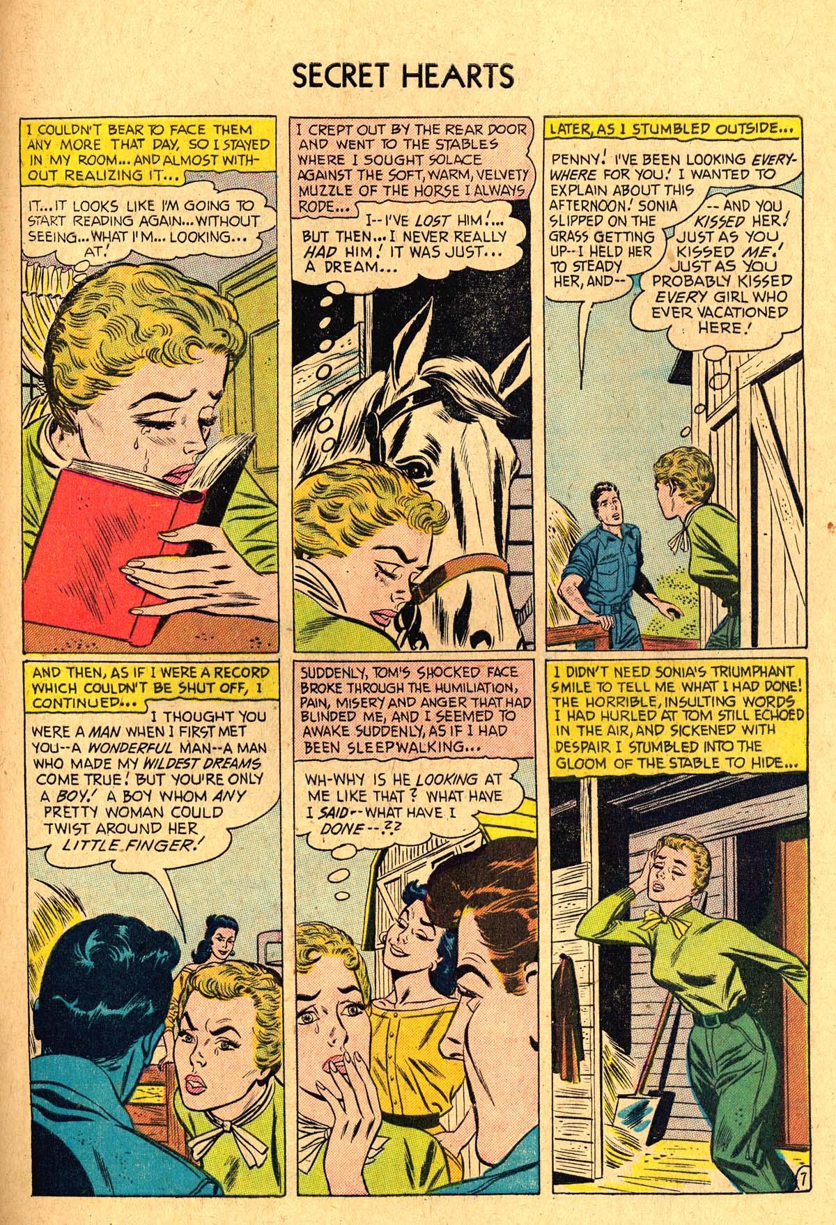 Read online Secret Hearts comic -  Issue #36 - 33