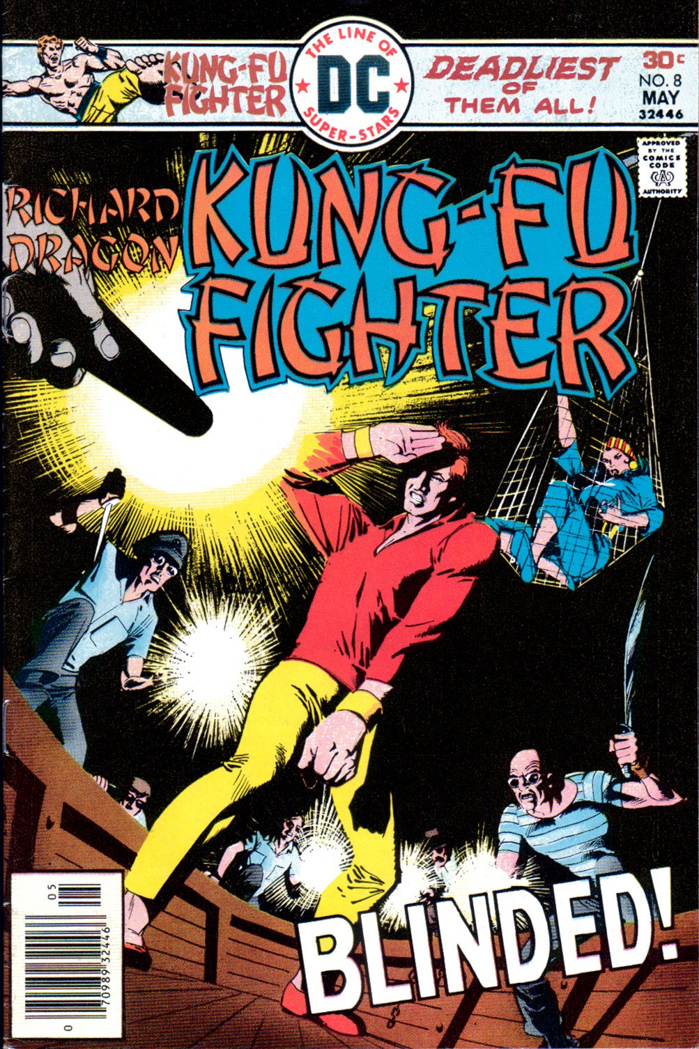 Richard Dragon, Kung-Fu Fighter 8 Page 1