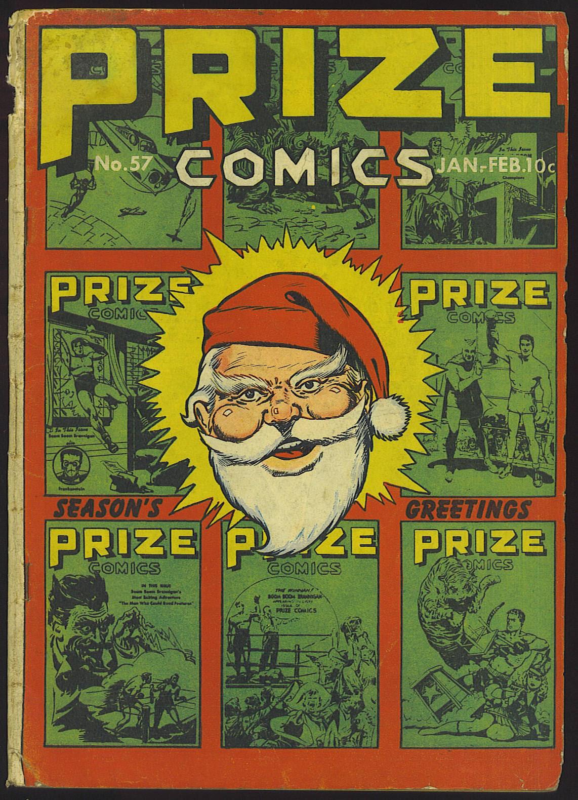 Prize Comics 57 Page 1