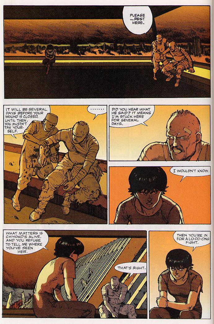 Read online Akira comic -  Issue #24 - 38