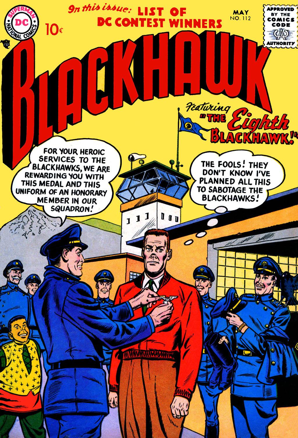 Blackhawk (1957) 112 Page 1