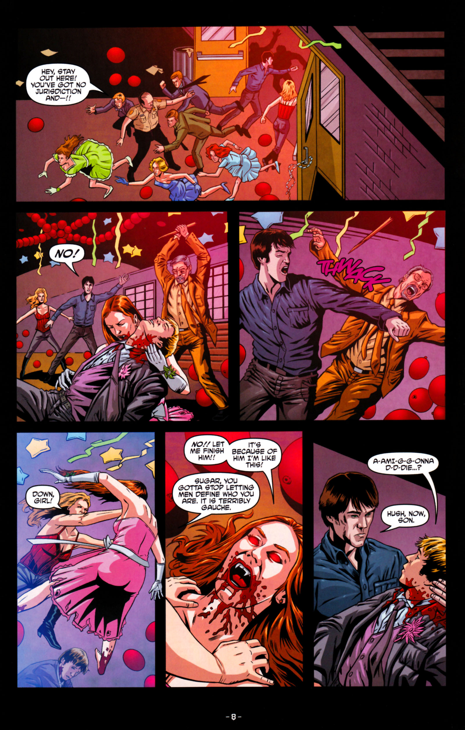 Read online True Blood: Tainted Love comic -  Issue #5 - 11