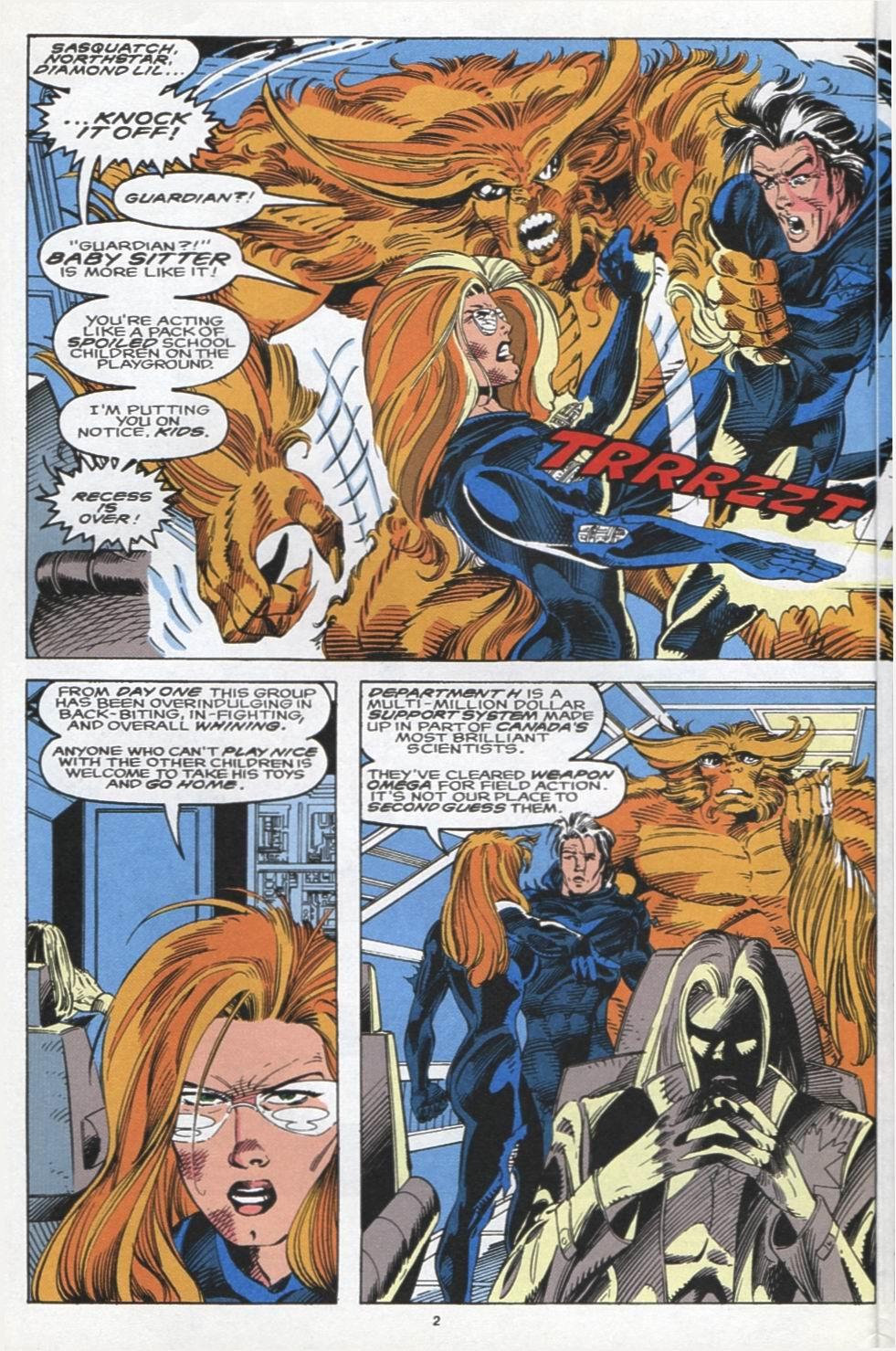 Read online Alpha Flight (1983) comic -  Issue #104 - 3