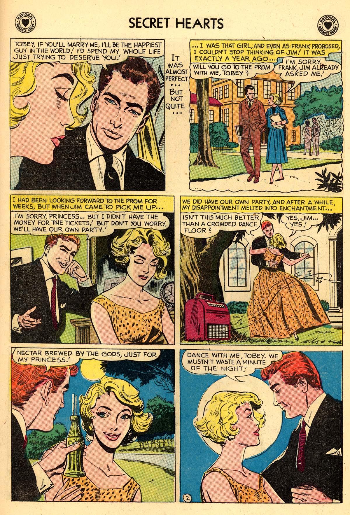 Read online Secret Hearts comic -  Issue #59 - 19