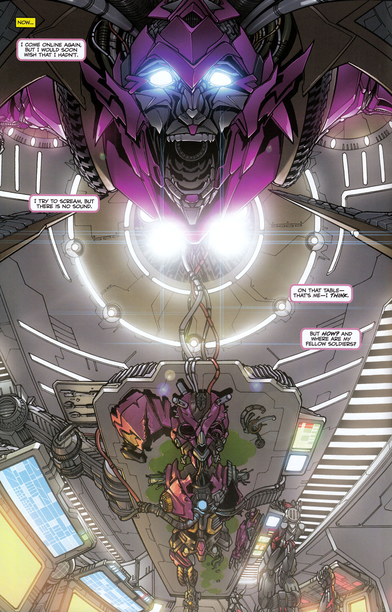 Read online Transformers: Tales of The Fallen comic -  Issue #6 - 4