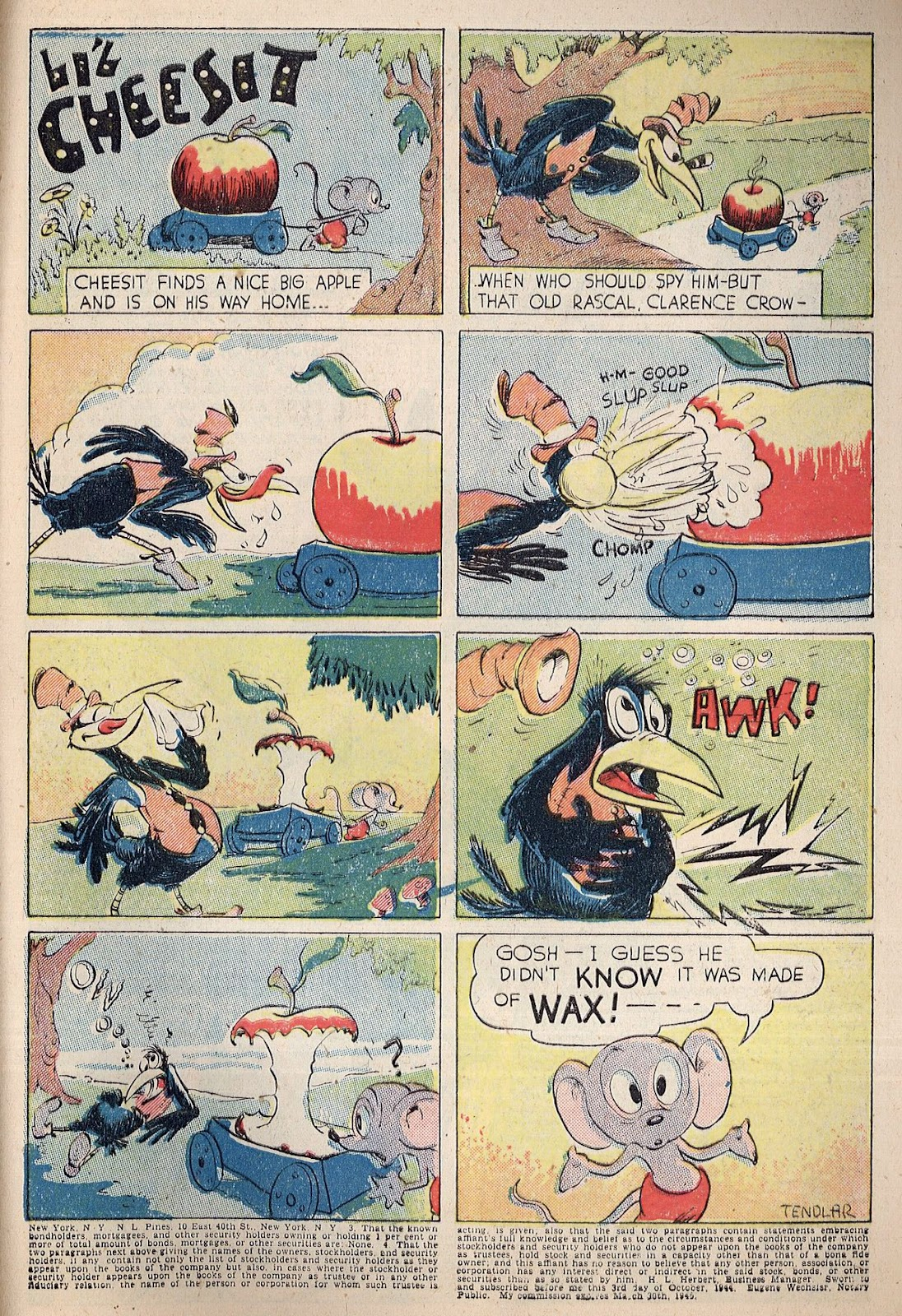 Exciting Comics (1940) issue 38 - Page 43