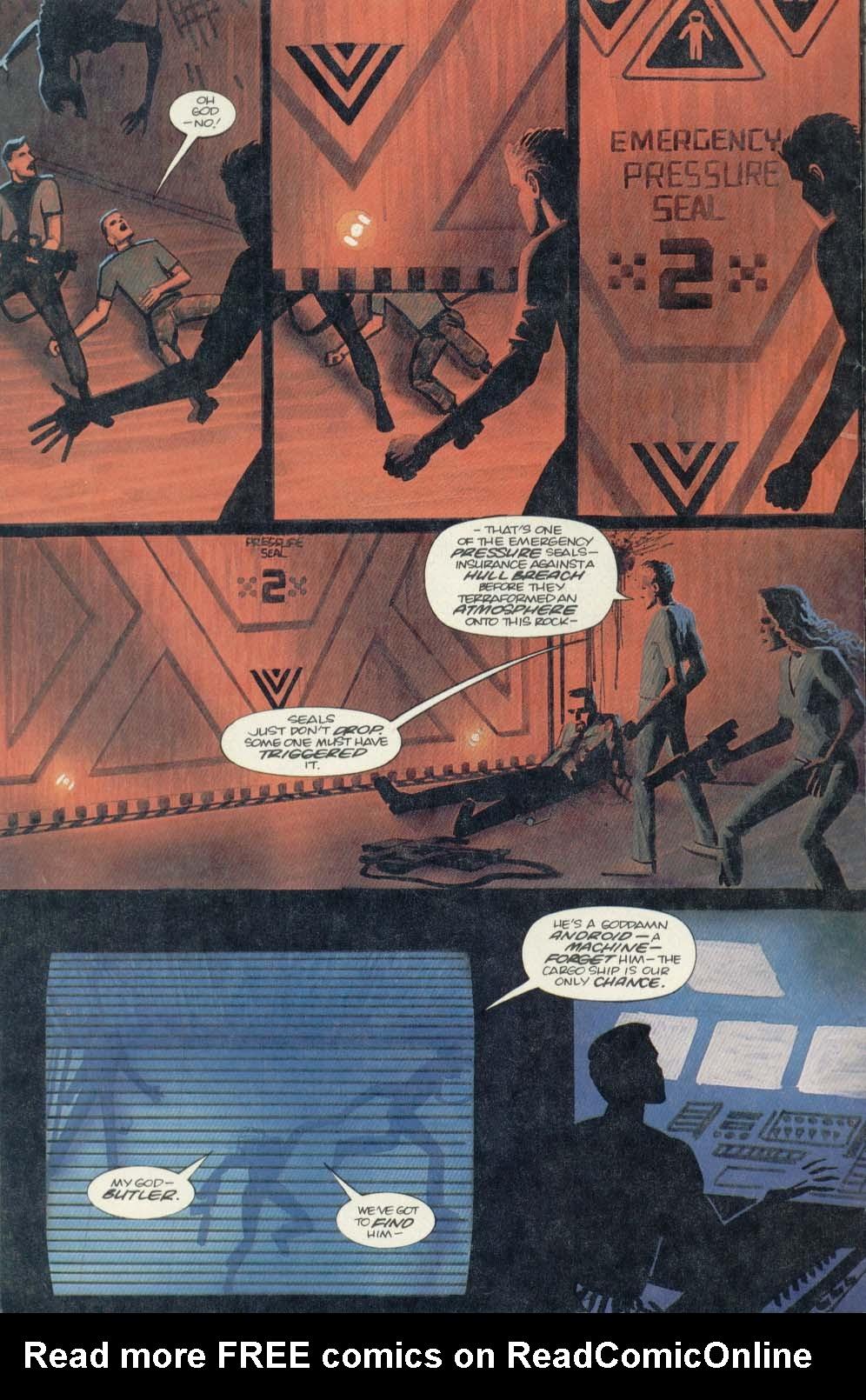 Read online Aliens (1989) comic -  Issue #4 - 10