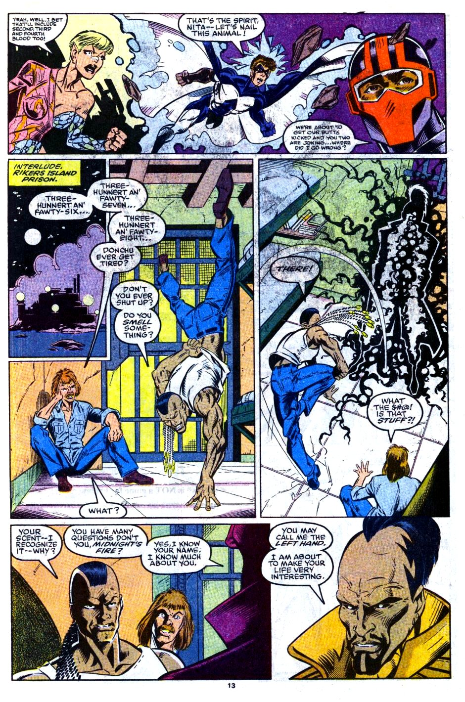 The New Warriors Issue #16 #20 - English 11
