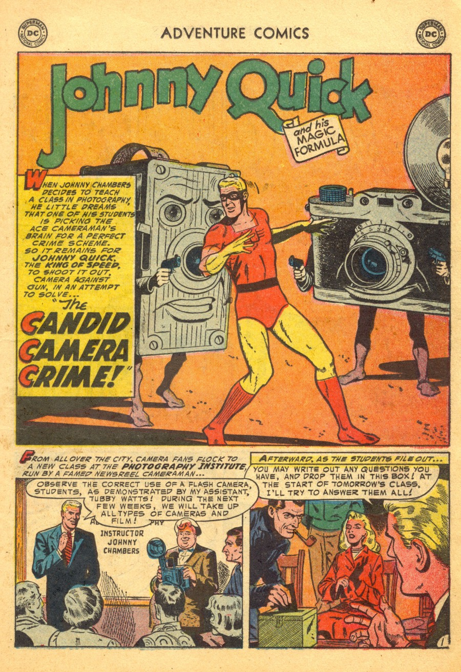 Read online Adventure Comics (1938) comic -  Issue #203 - 25