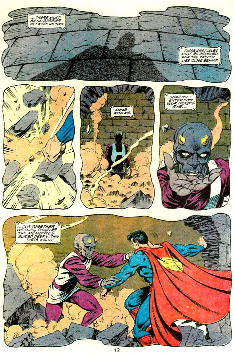 Read online Adventures of Superman (1987) comic -  Issue #485 - 13