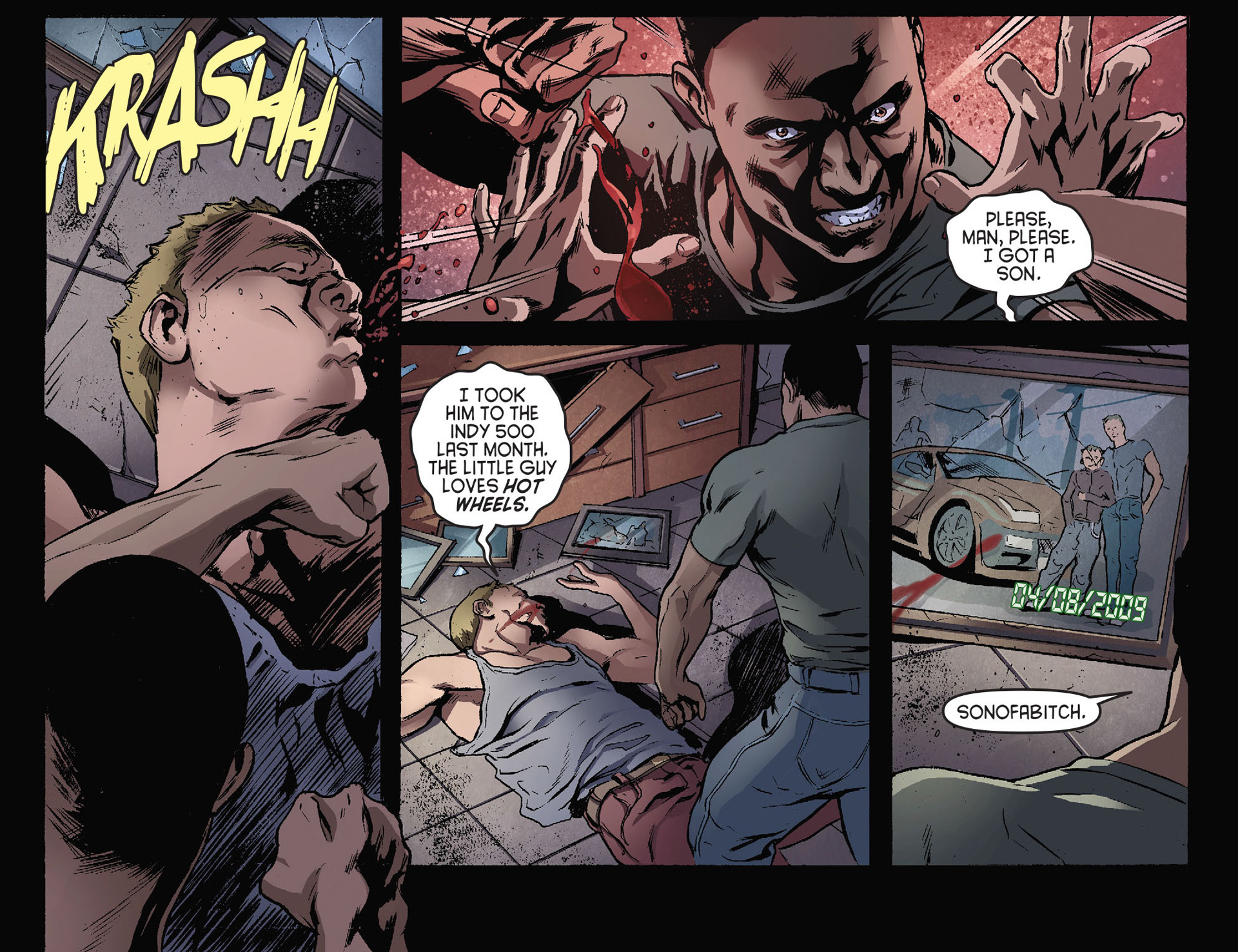 Read online Arrow [II] comic -  Issue #28 - 18