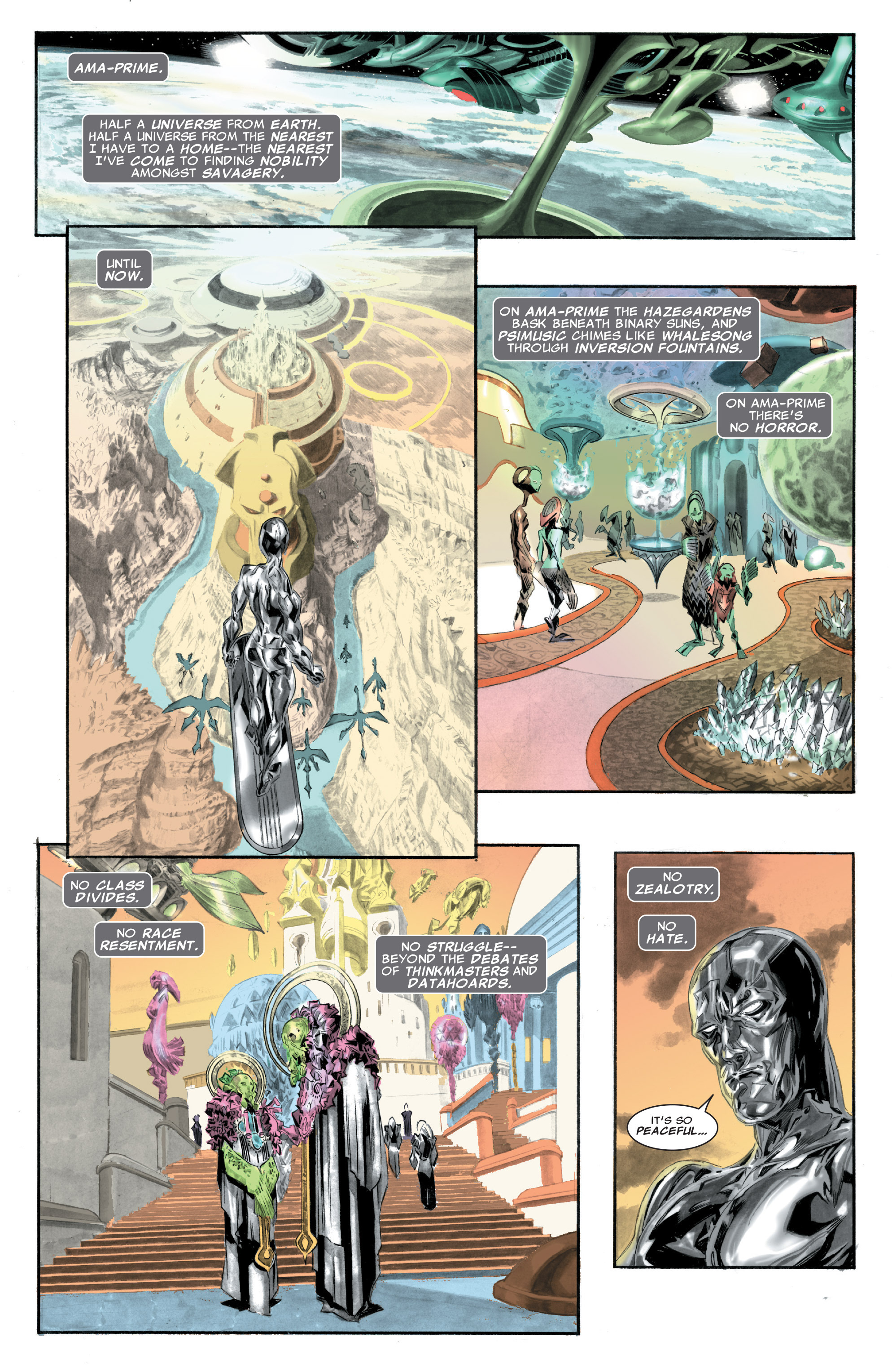 Read online Silver Surfer: In Thy Name comic -  Issue #1 - 11