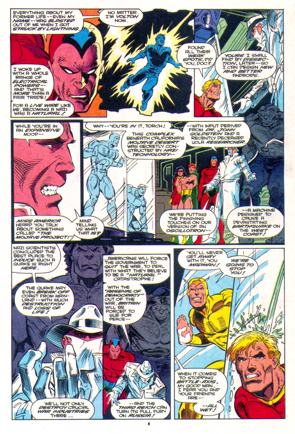 Read online The Invaders (1993) comic -  Issue #3 - 7