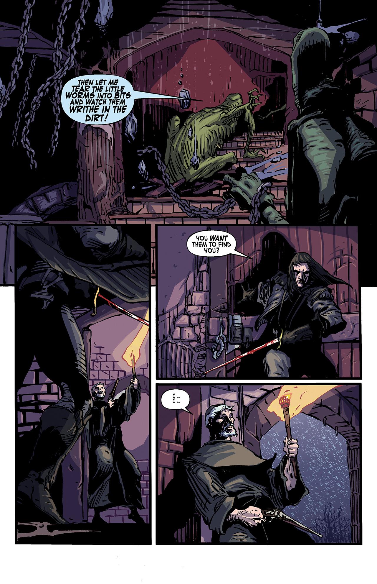 Read online Solomon Kane: Death's Black Riders comic -  Issue #4 - 14