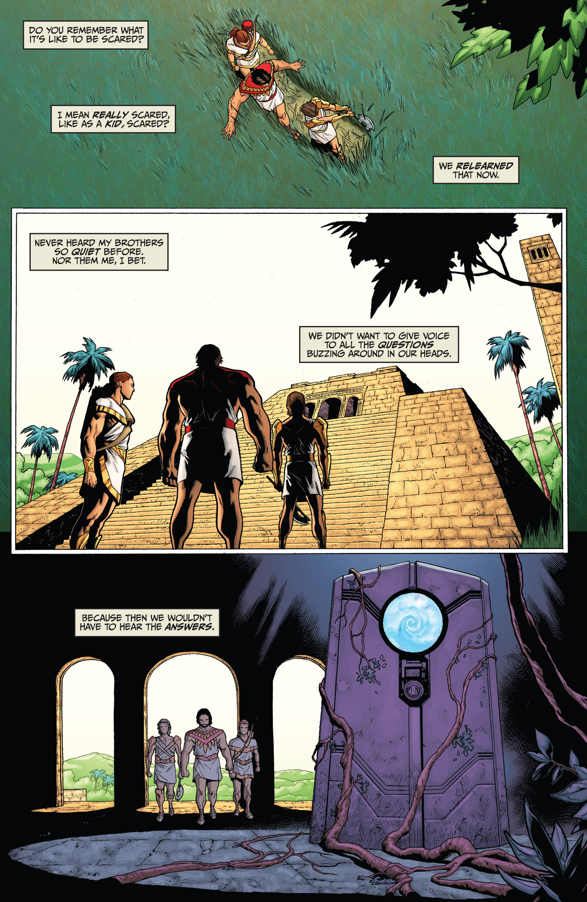 Read online Archer and Armstrong comic -  Issue #Archer and Armstrong _TPB 3 - 17