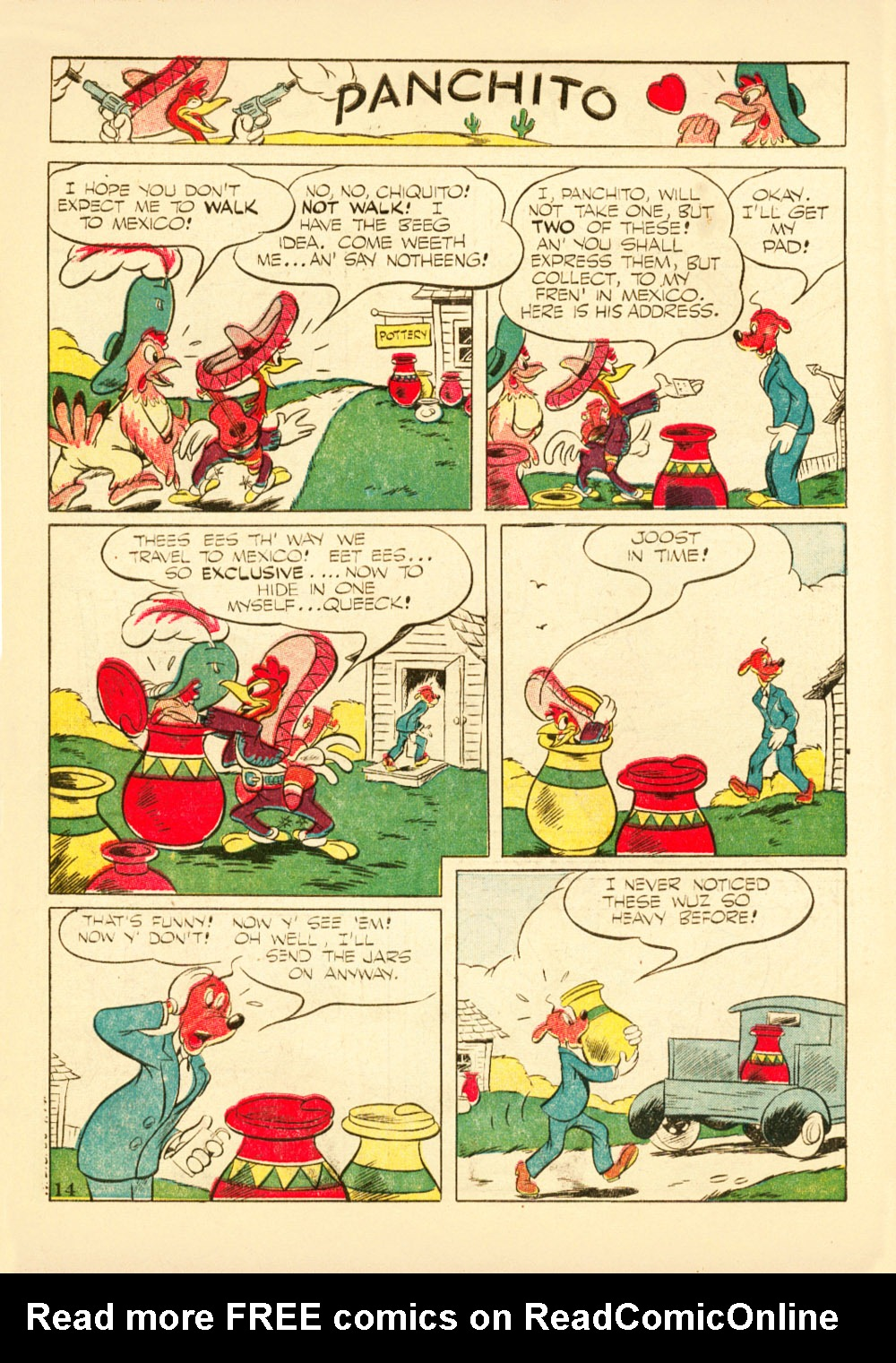 Walt Disney's Comics and Stories issue 38 - Page 16