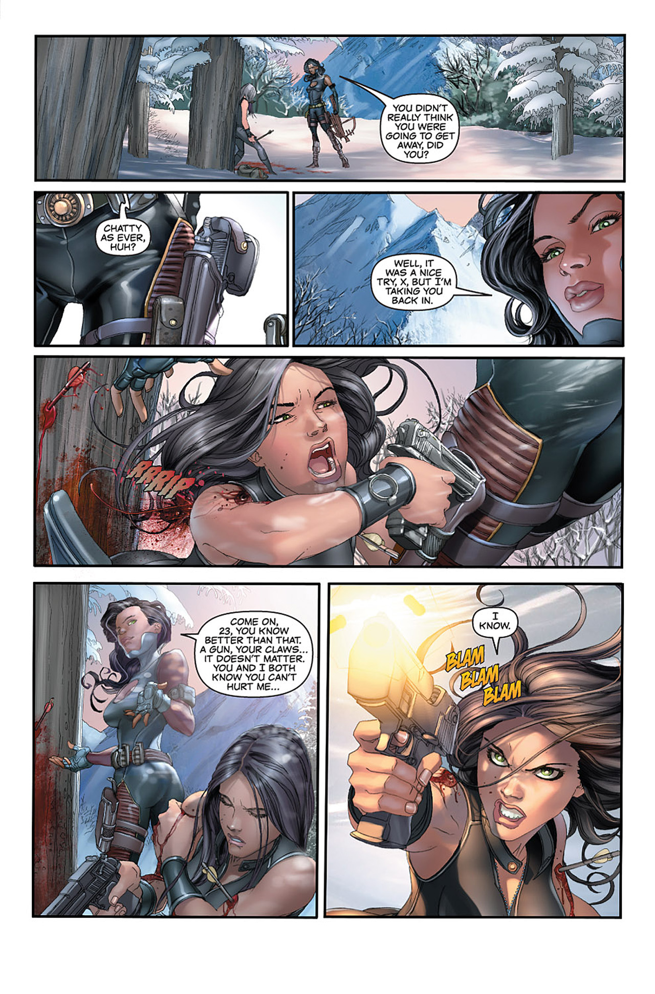 Read online X-23: Target X comic -  Issue #1 - 18