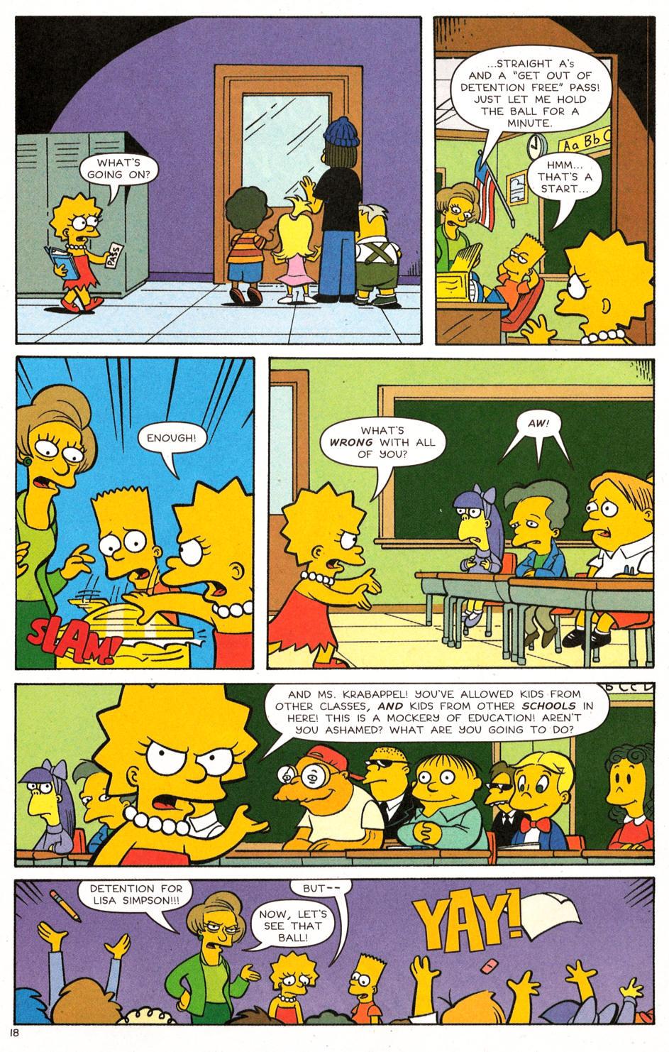Read online Simpsons Comics comic -  Issue #120 - 14