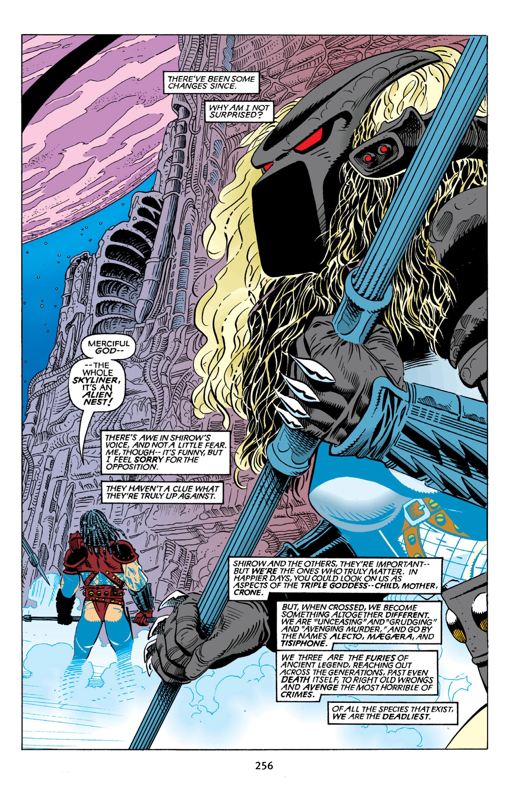 Read online Aliens vs. Predator Omnibus comic -  Issue # _TPB 2 Part 3 - 32