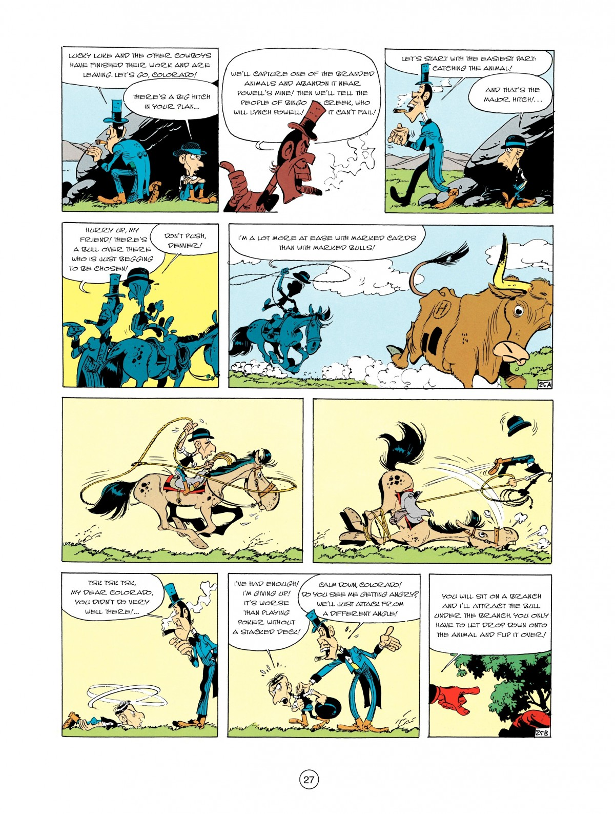Read online A Lucky Luke Adventure comic -  Issue #2 - 29