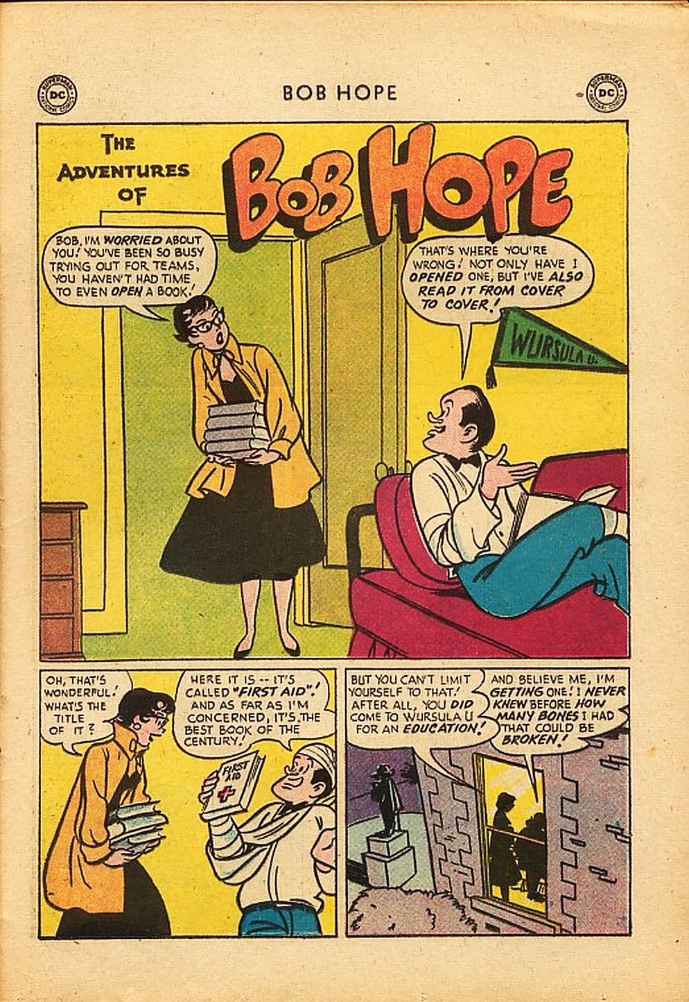 The Adventures of Bob Hope issue 42 - Page 25