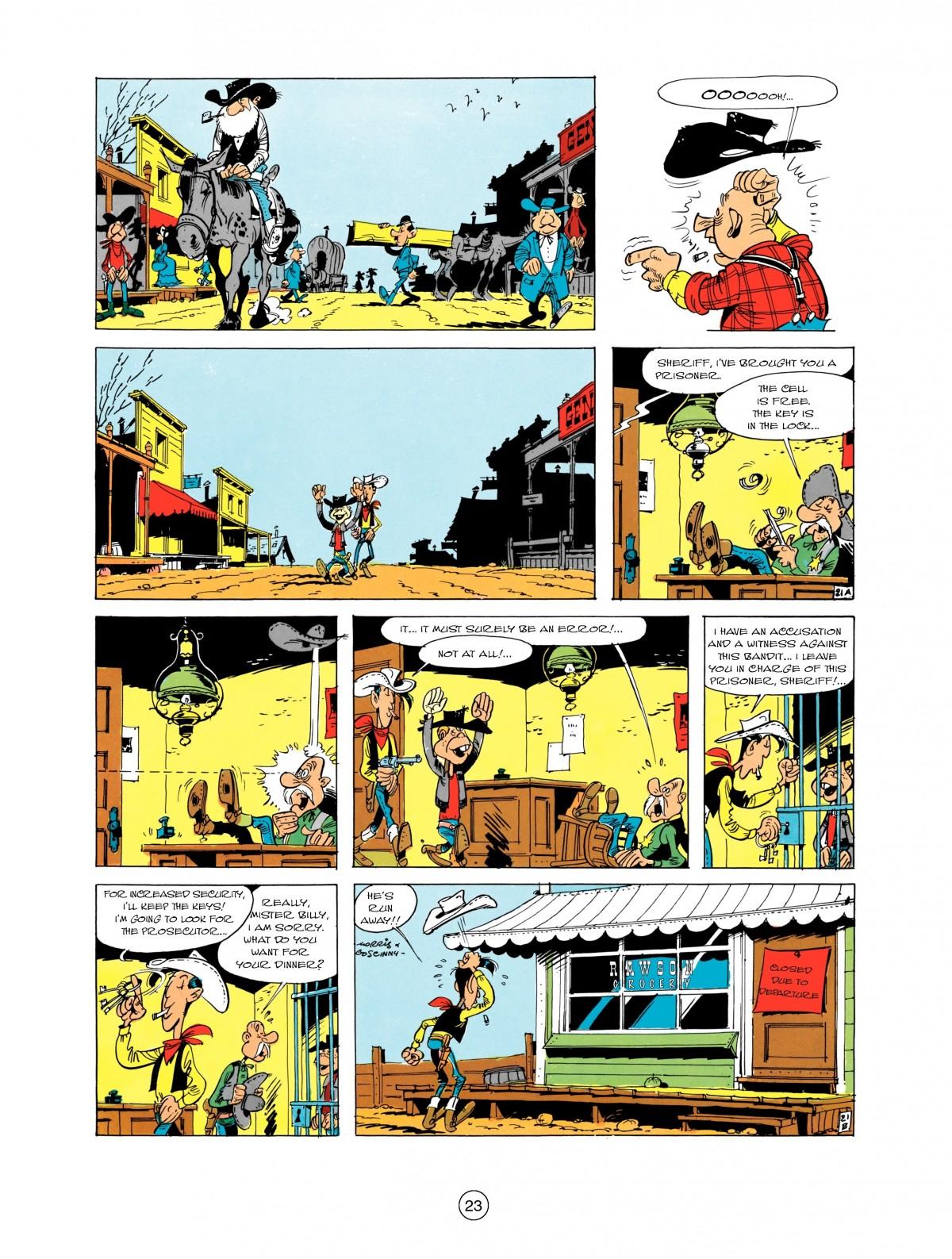 Read online A Lucky Luke Adventure comic -  Issue #1 - 25