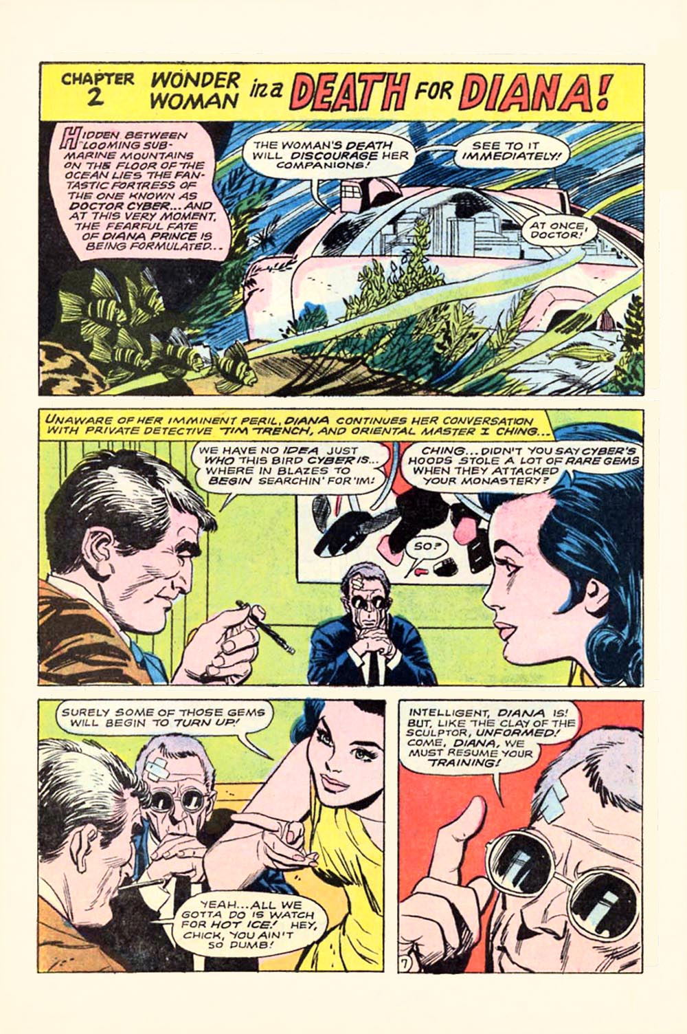 Read online Wonder Woman (1942) comic -  Issue #180 - 10