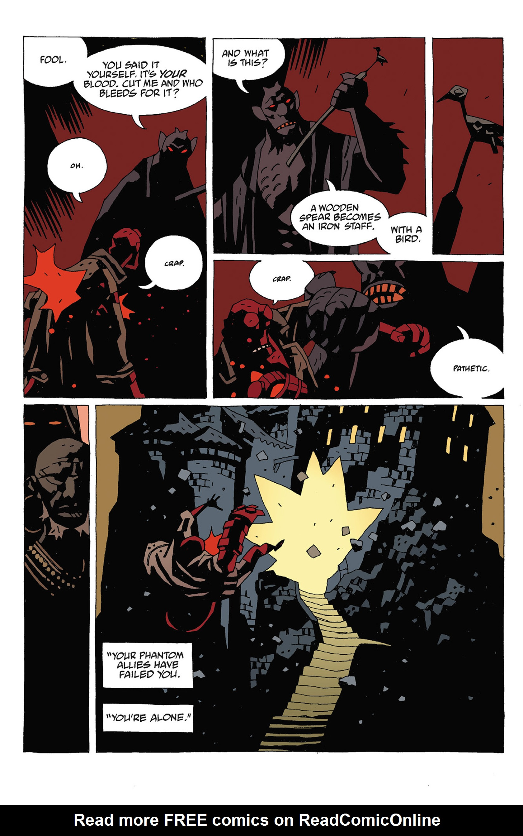 Read online Hellboy: Strange Places comic -  Issue # TPB - 118
