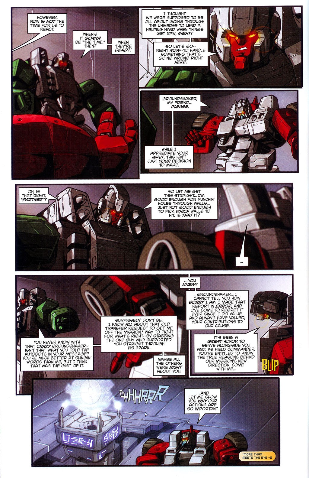 Read online Transformers: Micromasters comic -  Issue #3 - 9