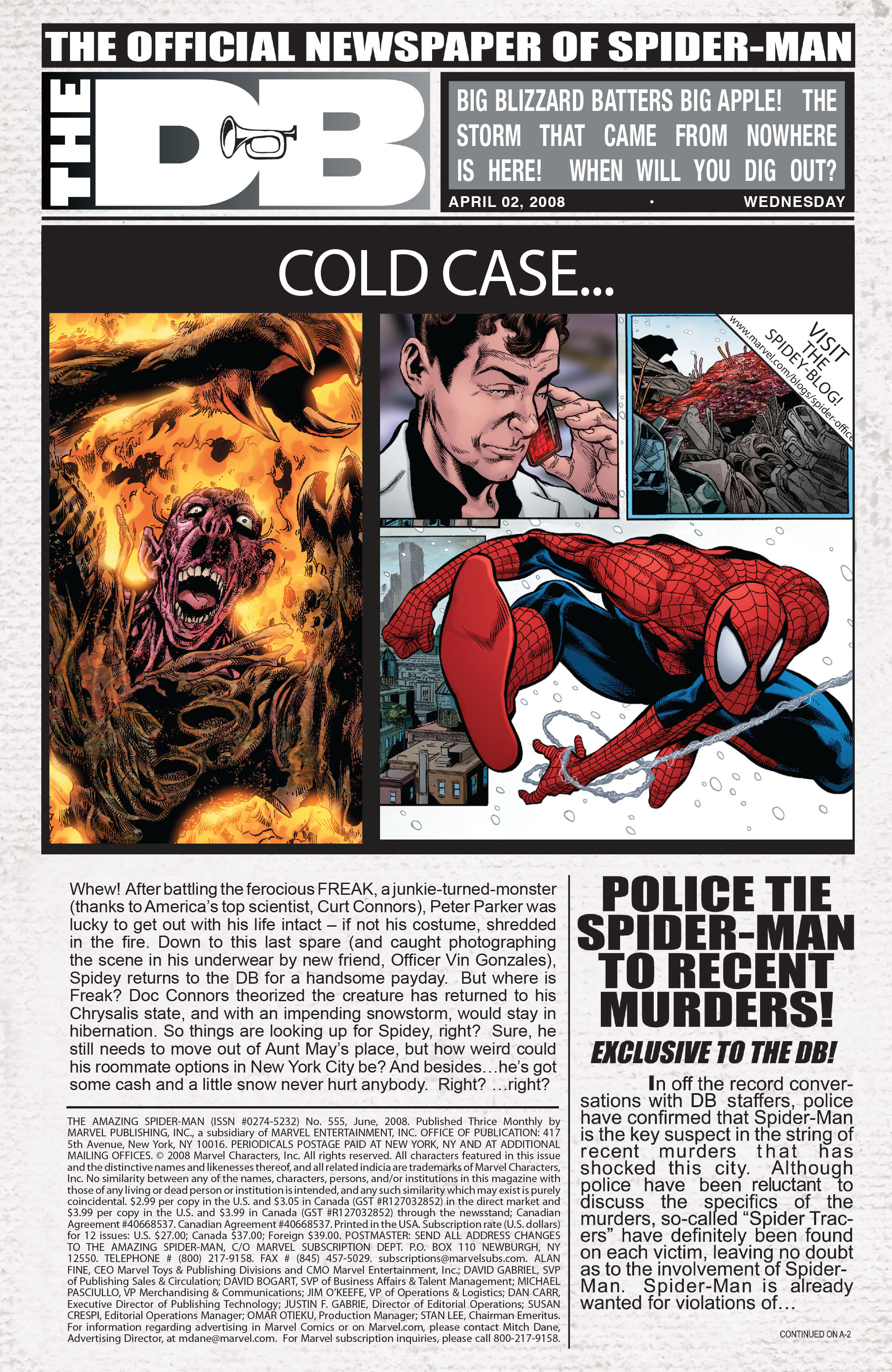 The Amazing Spider-Man (1963) 555 Page 1