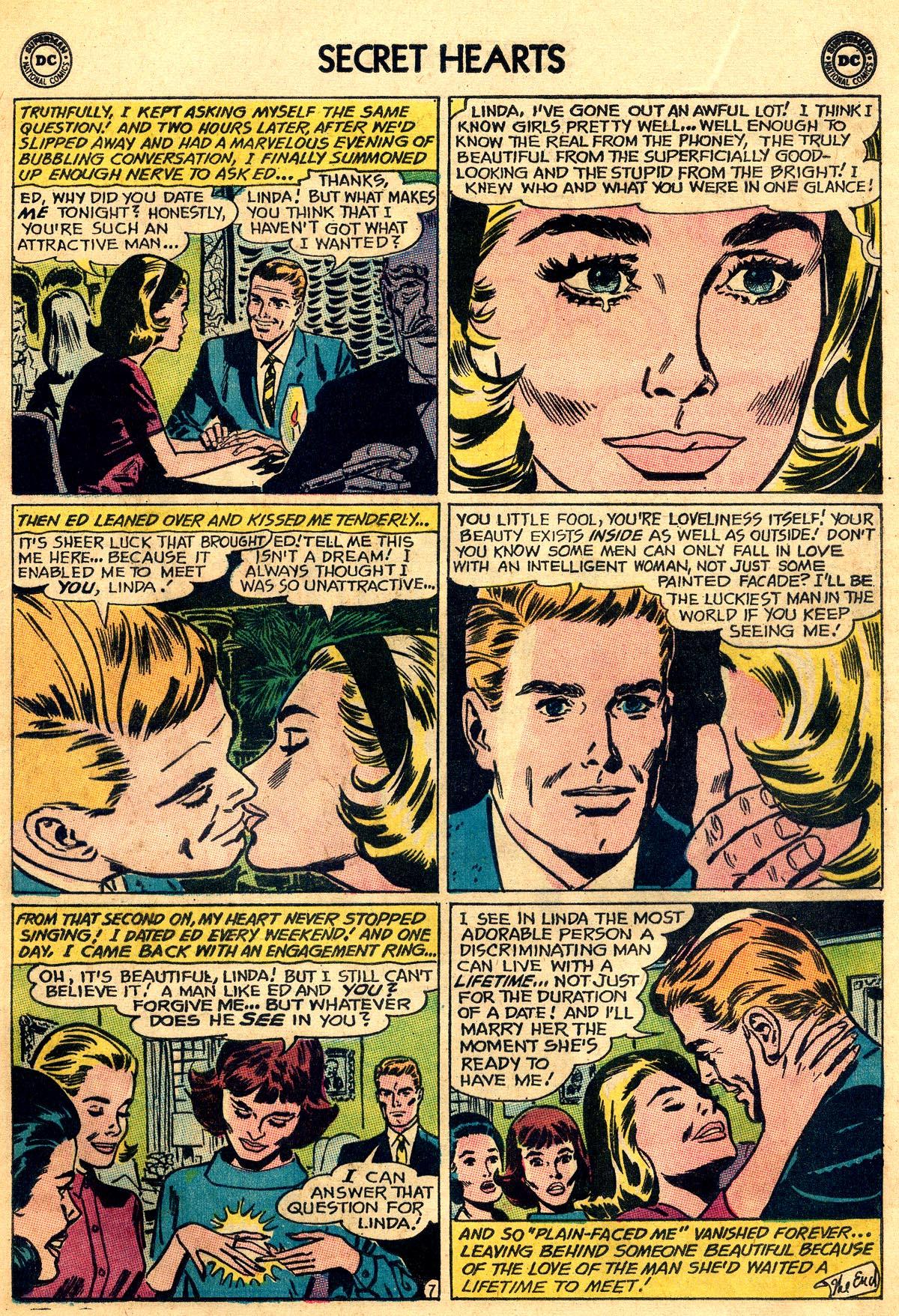 Read online Secret Hearts comic -  Issue #93 - 9