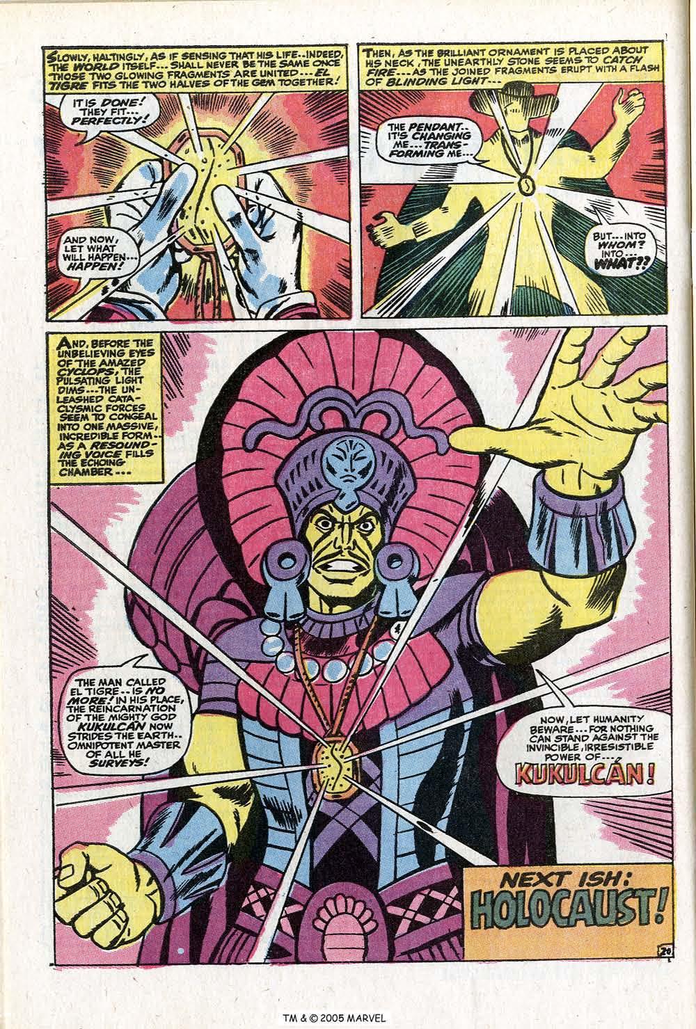 Read online Uncanny X-Men (1963) comic -  Issue #73 - 32