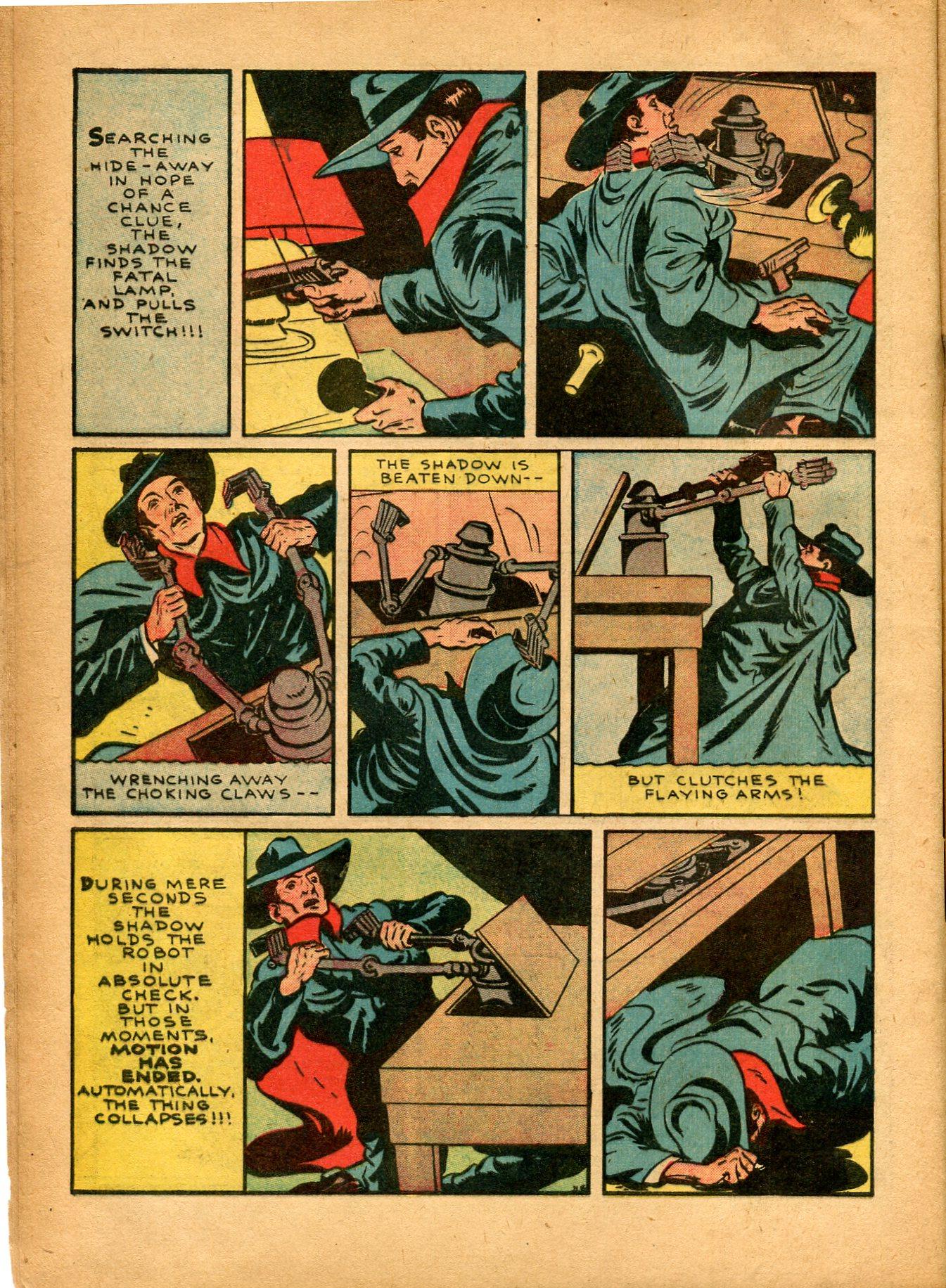 Read online Shadow Comics comic -  Issue #8 - 12