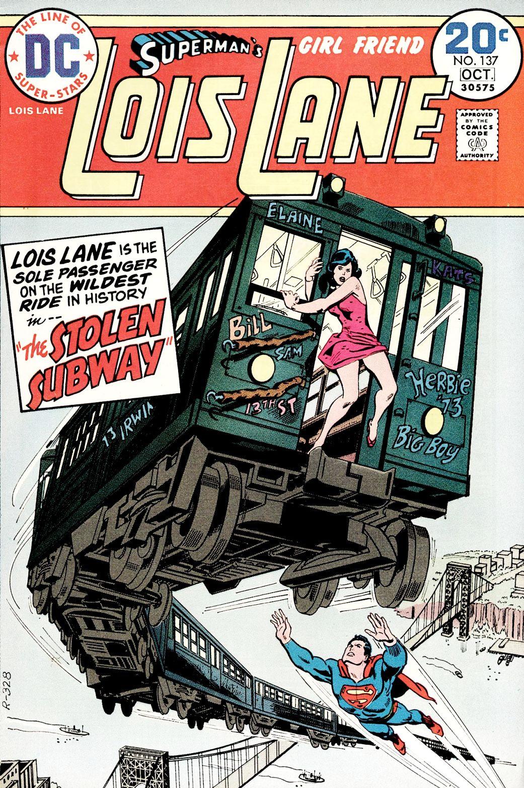 Supermans Girl Friend, Lois Lane 137 Page 1