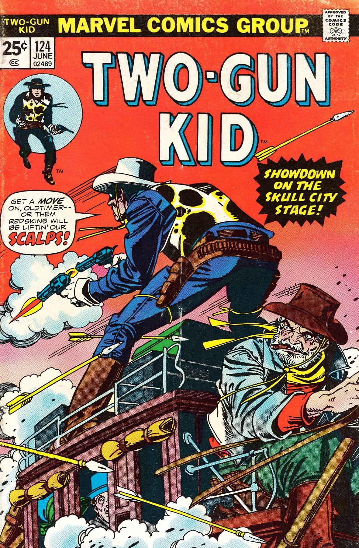 Read online Two-Gun Kid comic -  Issue #124 - 1