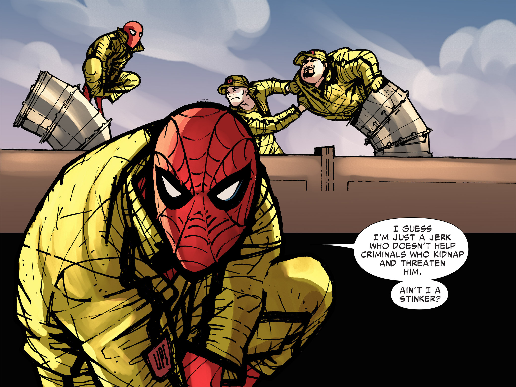Read online Amazing Spider-Man: Who Am I? comic -  Issue # Full (Part 3) - 137