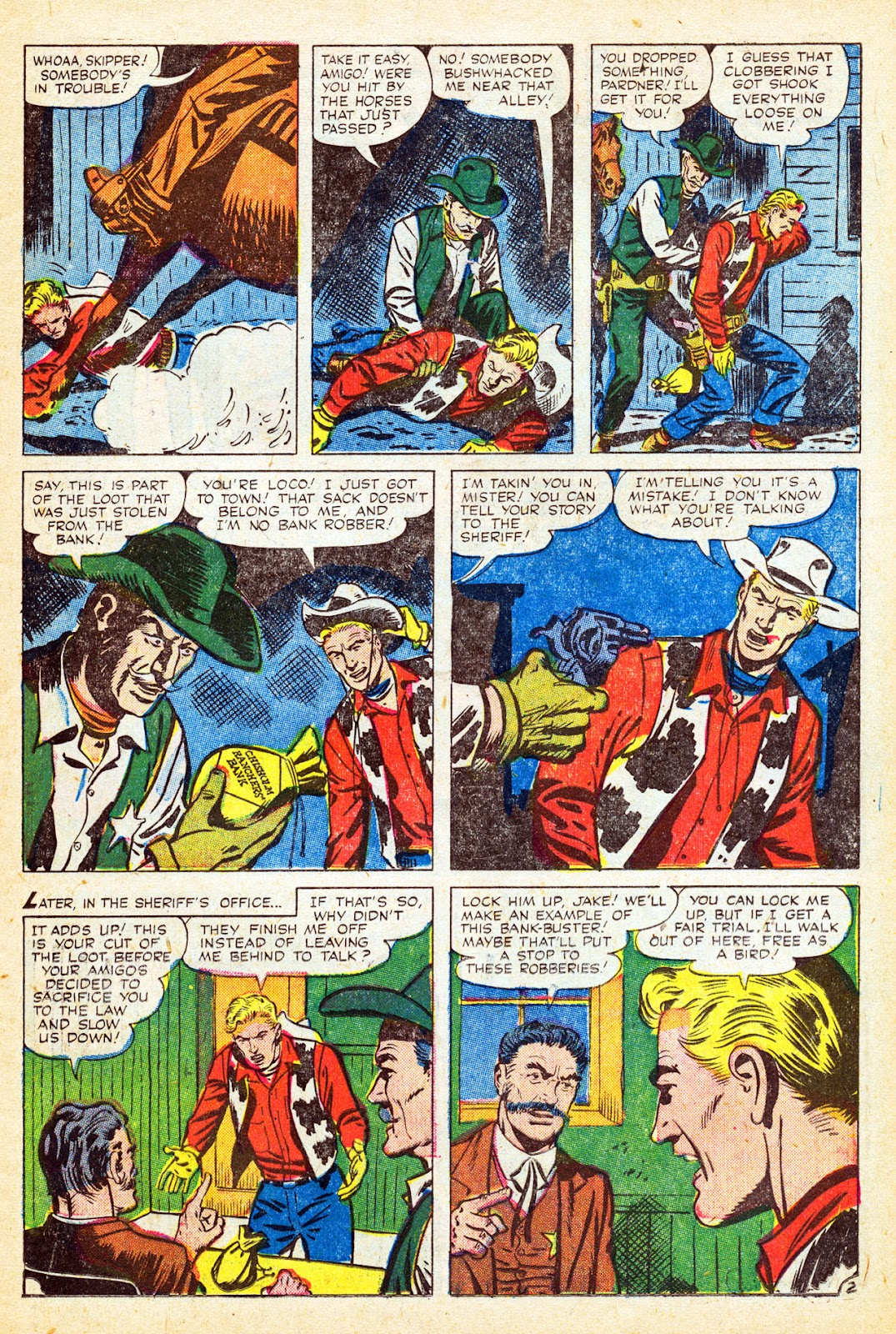 Gunsmoke Western issue 37 - Page 11
