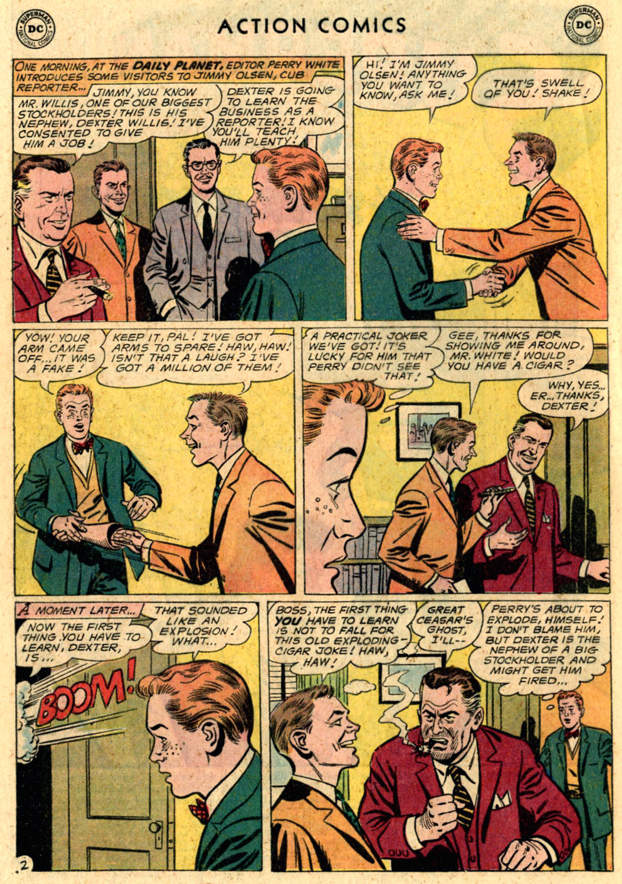 Read online Action Comics (1938) comic -  Issue #289 - 4